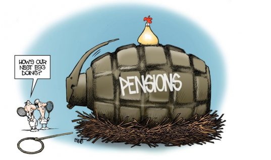 It's Only Pension Money