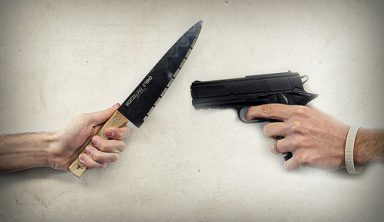 Taking a Knife to a Gun Fight