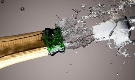 BREAK OUT THE BUBBLY!