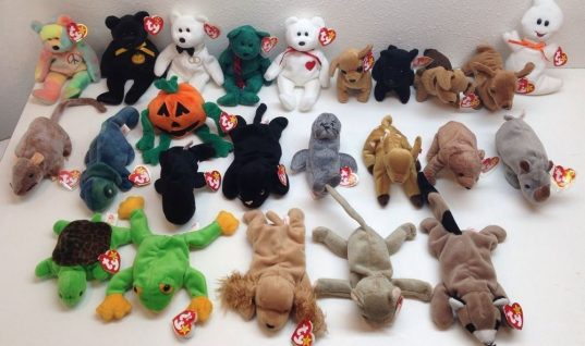 Anybody Remember Beanie Babies?