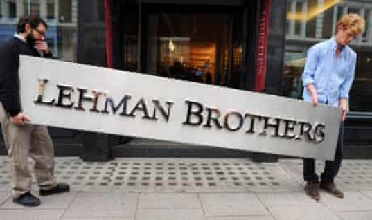 A LEHMAN MOMENT, Anyone?